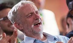 Image result for corbyn having a laugh + images