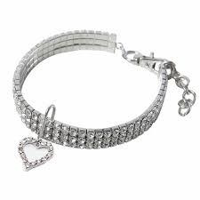 <b>Cute Crystal Pet</b> Collar Dog Accessories Pet Necklace Cat Collar ...