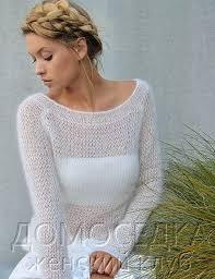 Шикарный тонкий вязаный пуловер. Обсуждение на LiveInternet ...