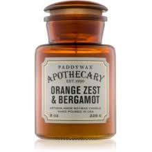 Paddywax Apothecary <b>Orange</b> Zest & Bergamot <b>ароматическая свеча</b>