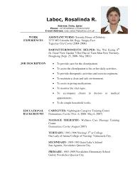 caregiver babysitting job position resume sample eager world it