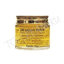 Отзывы о FARMSTAY 24K Gold & Peptide Perfect Ampoule Cream