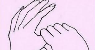 Imagini pentru Degetul mare este conectat cu plămânii și inima.