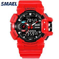 <b>Smael 1436</b> S Shock Sport Watch for <b>Men</b> 50M Waterproof Digital ...
