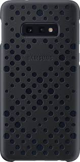 <b>Чехол Samsung Pattern Cover</b> для Galaxy S10e, черный — купить ...