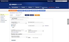 how to post a confidential job on careerbuilder enter the title for your job posting into the job title field