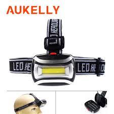 Mini COB <b>LED Headlamp</b> Waterproof Headlight <b>Outdoor</b> Emergency ...