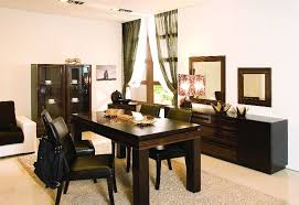 modern wood dining room sets: image of contemporary dining room buffet furniture