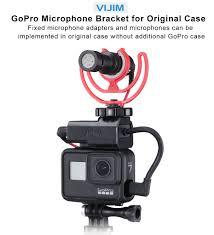 VIJIM GP 3 <b>Vlog</b> Battery Mic <b>Adapter for</b> Gopro 7 6 5 Cold Shoe ...