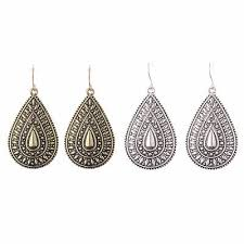 <b>New Vintage Bohemian Boho Ethnic Antique</b> Oval Water Drop ...