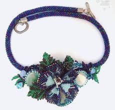 US$54.00 Flowers Jewelry <b>Blue</b> Agate <b>Necklace</b> Flowers Pendant ...