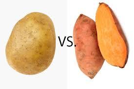 White vs. Sweet Potatoes