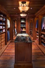 kitchen solution traditional closet:   inches is more than enough for walkways around an island