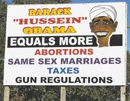 Image result for stupid right wing billboards