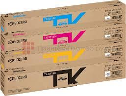 Тонер-<b>картридж</b> Kyocera Toner Kit TK-8115 комплект (C,M,Y,K) 4шт
