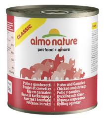 <b>Almo Nature Classic Cat</b> Food Chicken & Shrimp