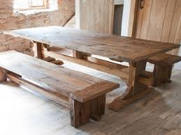 Rustic Wood Dining Room Table Dining Room Table With Secret Compartment For Storing Guns Or