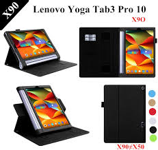 Lichee Pattern YOGA Tab 3 plus <b>Stand PU Leather Case</b> For ...