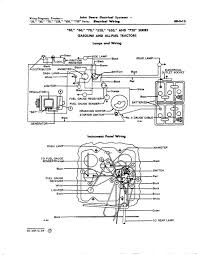 late jd 50 wiring diagram yesterday s tractors late jd 50 wiring diagram
