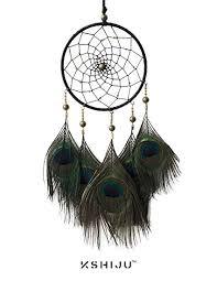 Buy Kshiju's Handmade Peacock <b>Feather Pendant Car Hanging</b> Gift ...
