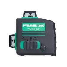 <b>FUBAG Лазерный</b> 3D уровень с зеленым лучом Pyramid 30G ...