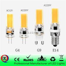 <b>LED G4</b> G9 E14 Lamp Bulb AC/DC Dimming <b>12V</b> 220V 3W 6W 9W ...