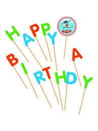 "<b>Свеча</b>-<b>буква</b> ""Самолеты"" ""Happy Birthday"", 13 шт <b>Procos</b> 2309135 ..."