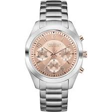 Ladies <b>Caravelle New York</b> Melissa Chronograph Watch (45L143 ...