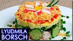 Самый простой салат из крабовых палочек с