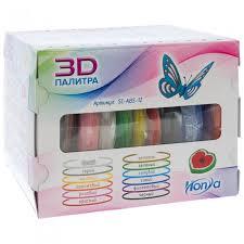 <b>Набор</b> пластика ABS. 12 различных цветов по 12 м <b>Honya</b> ...
