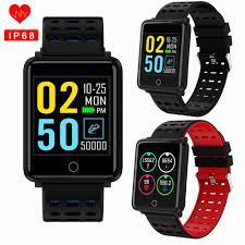 <b>Q9</b> color screen Blood Pressure Heart Rate Monitor <b>Smart Watch</b> ...