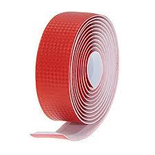 Red : <b>2Pcs Bicycle Handlebar Tape</b> Anti-slip Belt Strap +2 Bar Plug ...