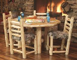 Log Dining Room Tables Log Dining Room Furniture Home Design Ideas