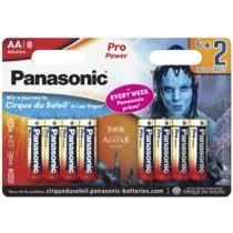 <b>Батарейки Panasonic AA</b> Alkaline Pro Power 8 шт купить с ...