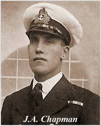 Photo of Commissioned Gunner James Alfred Chapman, courtesy of his niece, Diana Brock, - ChapmanJA2