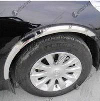 <b>Накладки</b> на арки колес Mitsubishi Outlander 3 2012-2014 короткие