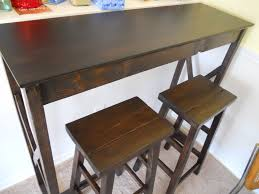 table bar height chairs diy: pub table and stools   pub table and stools