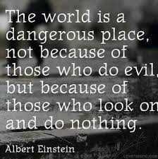 Albert Einstein Quotes About Evil. QuotesGram via Relatably.com