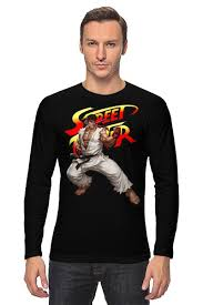 "Лонгслив ""<b>Street</b> Fighter Ryu"" #684461 от Combat Wear - <b>Printio</b>"