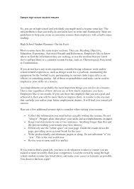 professional resume for high school graduate three paragraph professional resume for high school graduate