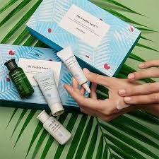No trouble here! <b>Clarifying skin care</b> set with bija seed oil | <b>innisfree</b>