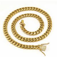<b>Stainless Steel</b> Gold Cuban Link Bracelet NZ | Buy New Stainless ...