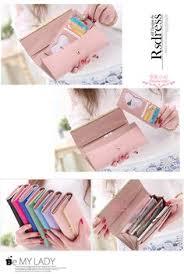 <b>Korean</b> Version of sweet and cute bow Multi- Card Handbag Ms ...