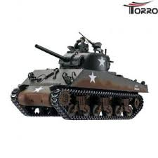 <b>Радиоуправляемый танк Torro</b> Sherman M4A3, ИК-пушка ...