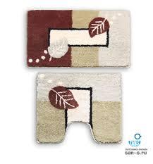 <b>Набор ковриков</b> для ванной комнаты <b>Milardo</b> 340PA68M13, Late ...