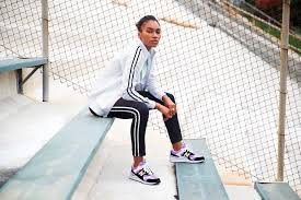 Master the track suit trend with the <b>NB Athletics Track Pant</b> for ...