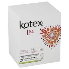 «<b>Прокладки ежедневные</b> Kotex Lux Super Slim Deo, <b>20шт</b> ...