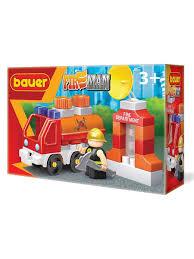 Детская развивающая игрушка <b>конструктор Bauer Пожарная</b> ...