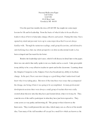 sample reflection essay reflective essay format example court reporter resume samples