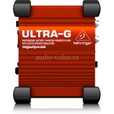 <b>BEHRINGER ULTRA</b>-<b>G Gi100</b> - активный гитарный Di-<b>box</b>